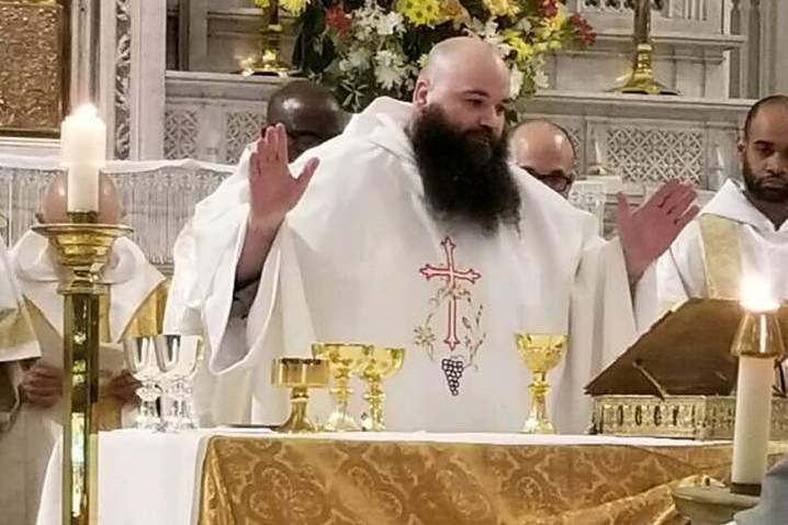 Fr. Giles first Mass_crop