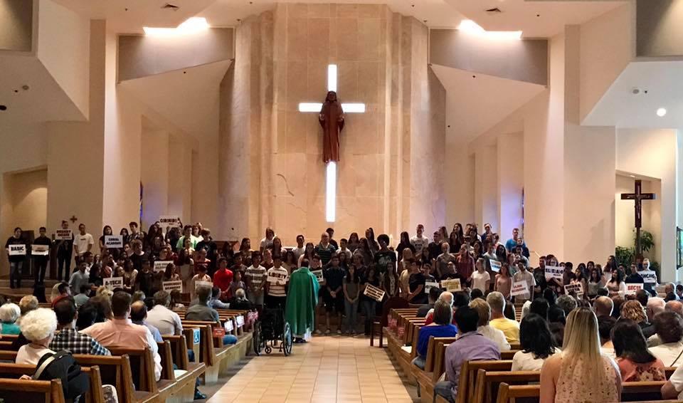 Life Teen opening Mass